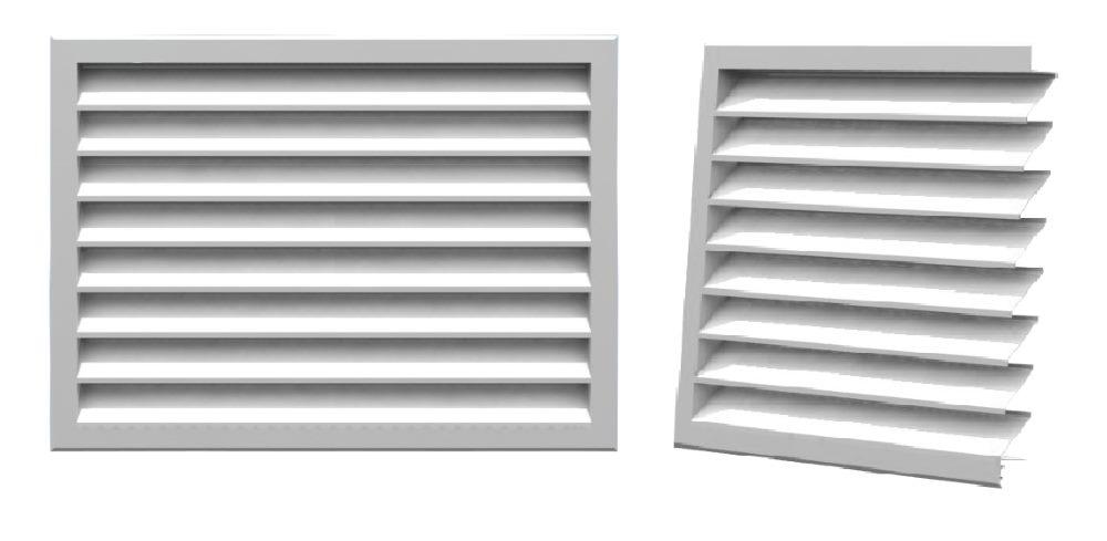 Вентиляционные решетки наружные фасадные